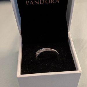 Authentic Pandora Elegant Waves Ring